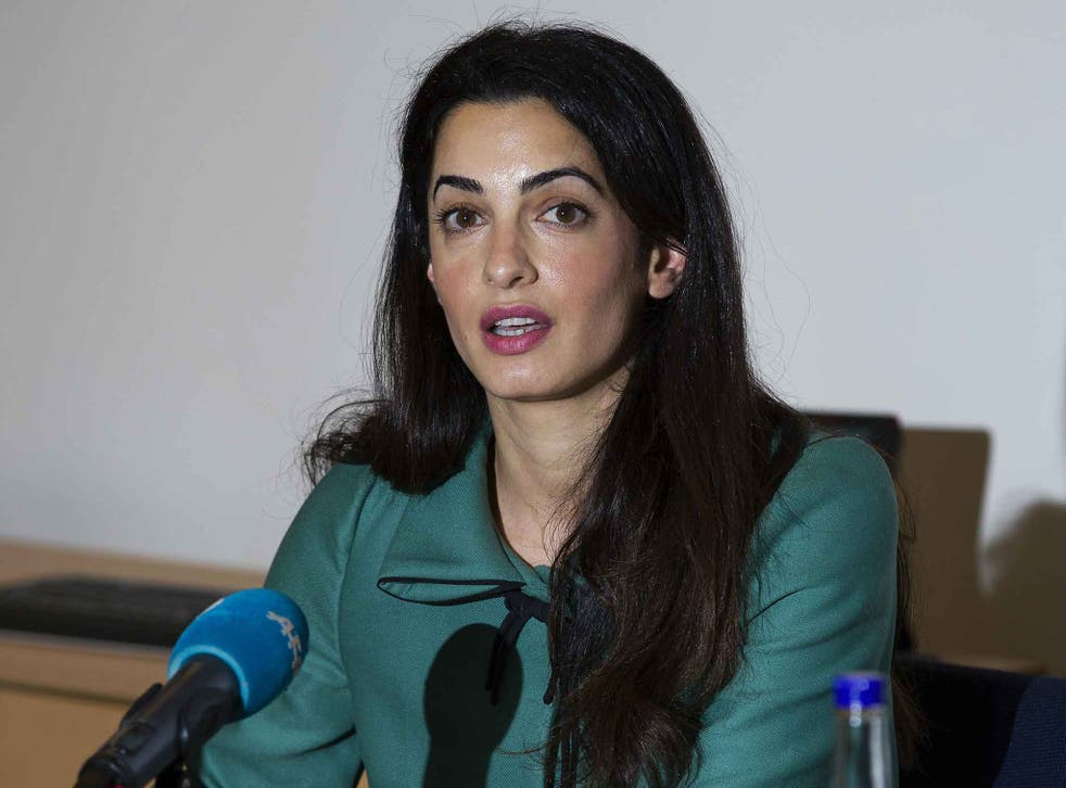 Mrs Clooney is acting pro-bono for the former president Mohamed Nasheed