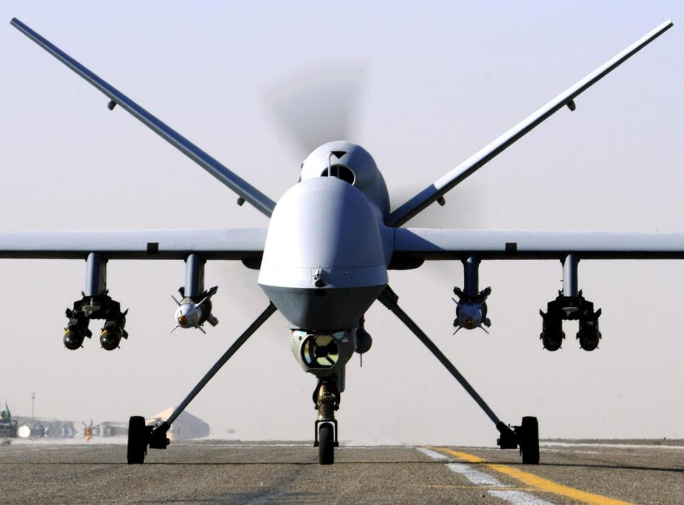 An RAF Reaper killed two British Isis fighters in Syria last month
