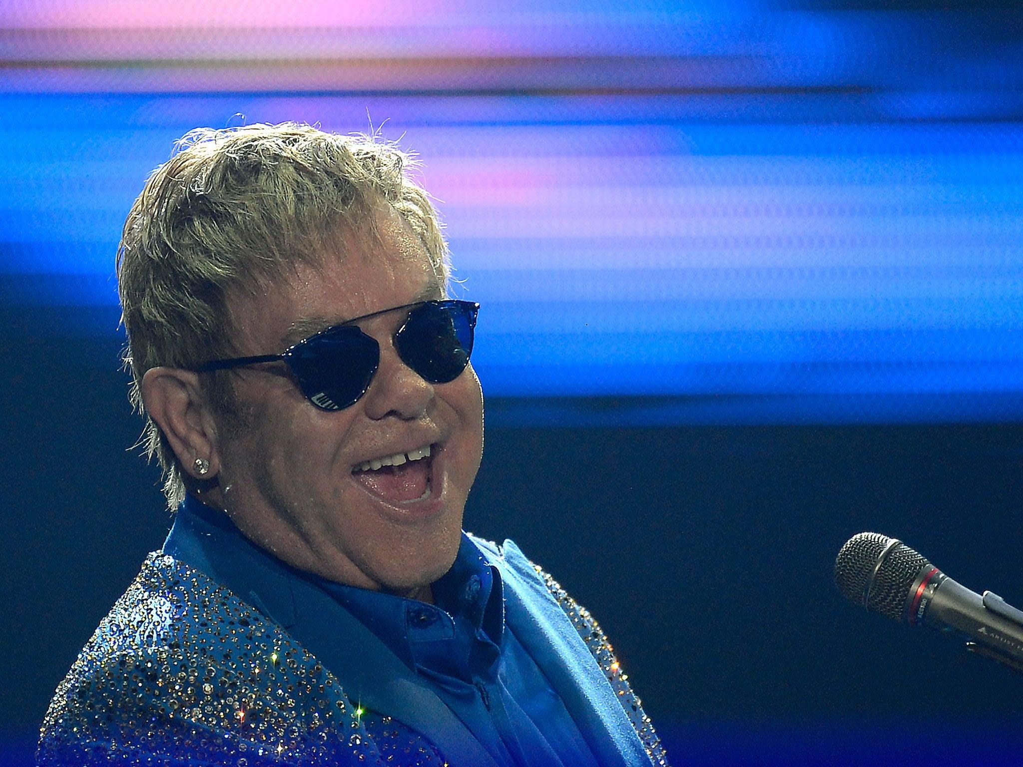 Sir Elton John Receives Phone Call From The Real President Putin