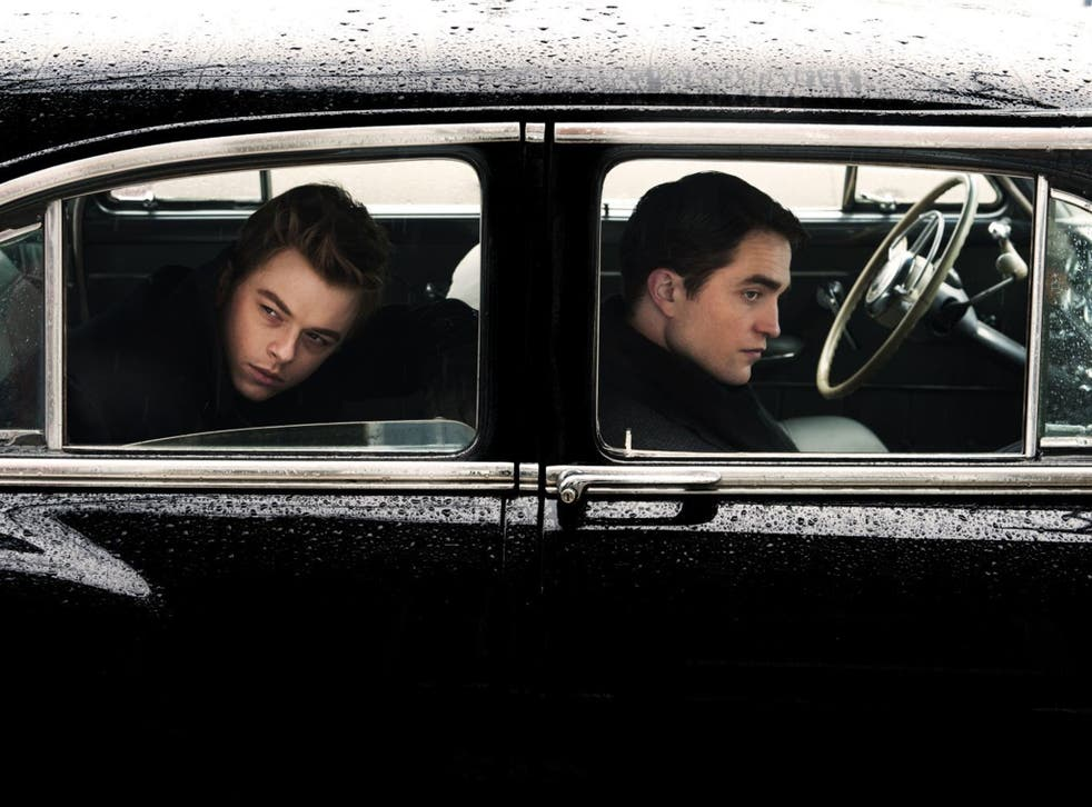 Aloof: Dane DeHaan and Robert Pattinson in Life
