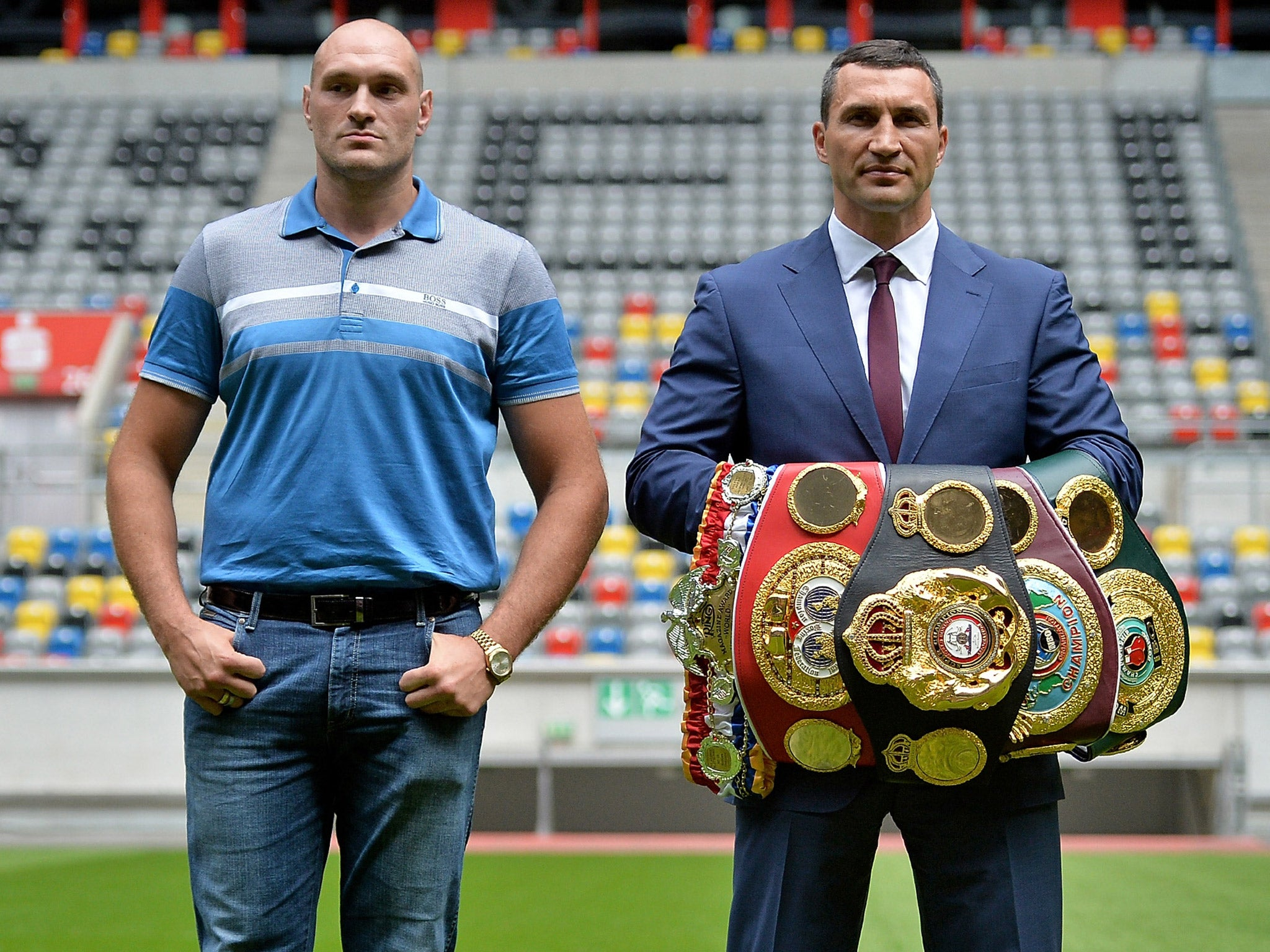 Wladimir Klitschko Vs Tyson Fury World Heavyweight Title