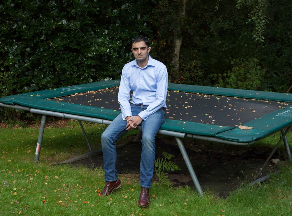 While he was born in England, Sahota says he felt many people were 'not from the same place, internally' as him