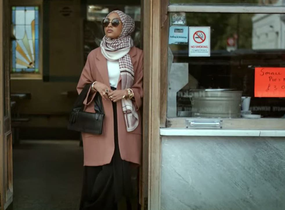 Twenty-three year old Mariah Idrissi as featured in H&M's autumn collection video.