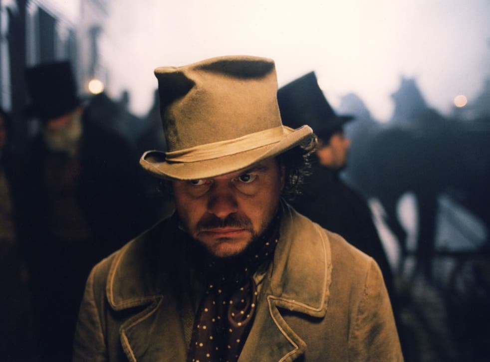 Charles Dickens's Bill Sikes (in this instance played by Jamie Foreman) is one of the archetypal villains of 18th-century literature