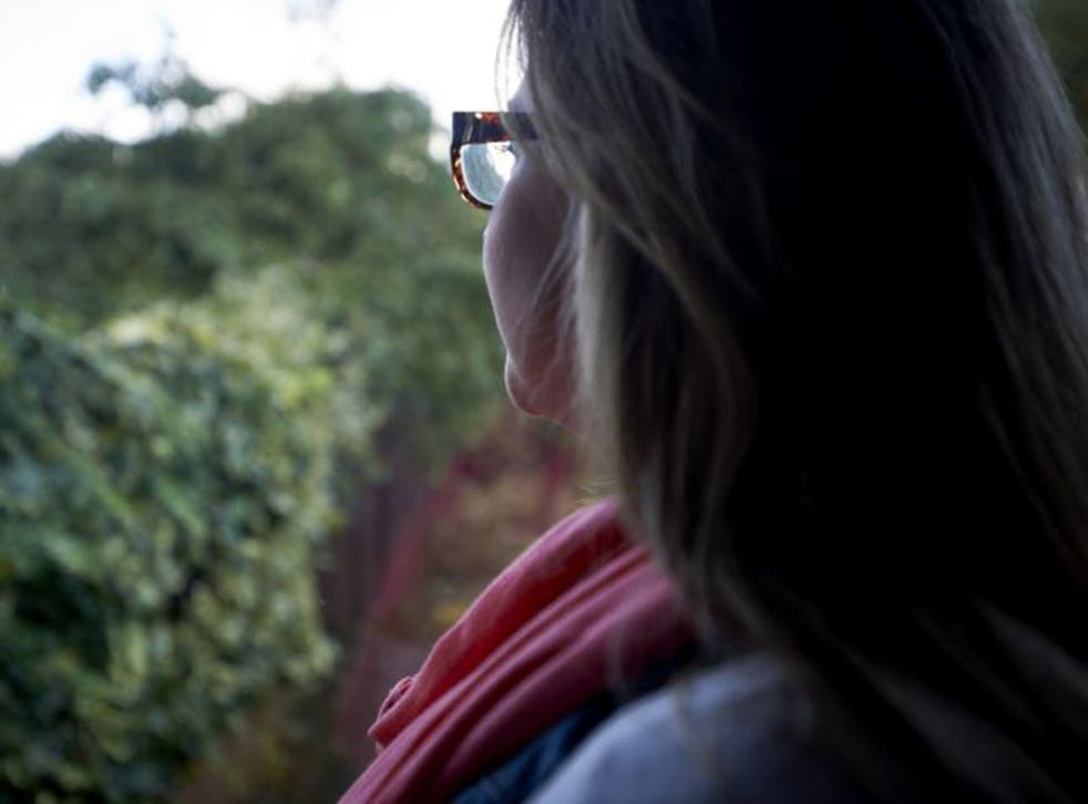 Moving on: restorative justice is increasingly offered to those who, like Emma (pictured), have been raped
