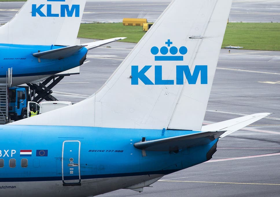 Scottish man 'tries to open door' at 30,000ft on KLM flight to