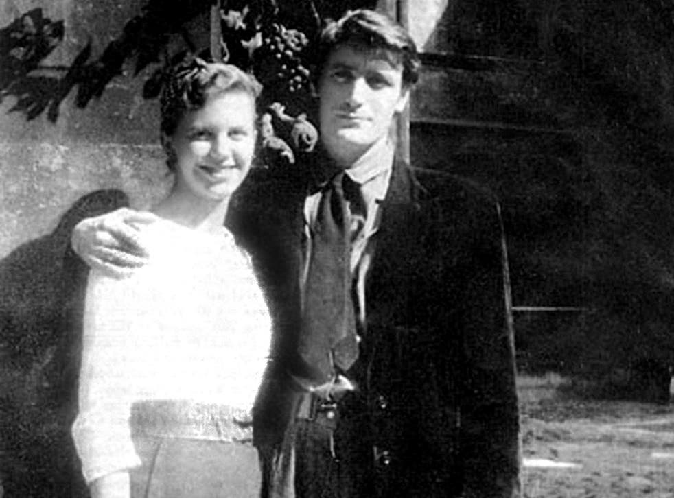 Sylvia Plath and Ted Hughes on their honeymoon in Paris in 1956. They separated about six months before her death in 1963