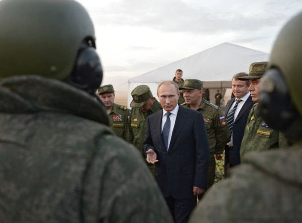 Vladimir Putin has now placed Russian troops on the ground in Syria