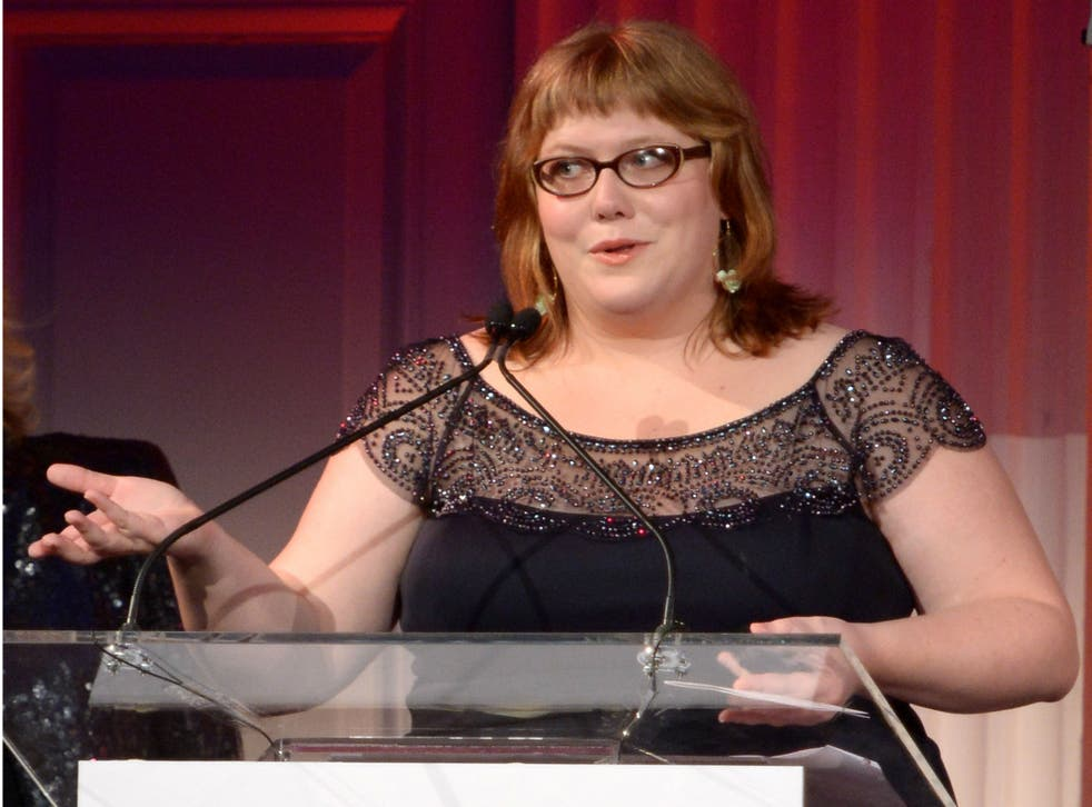 Lindy West was targeted by a troll impersonating her late father
