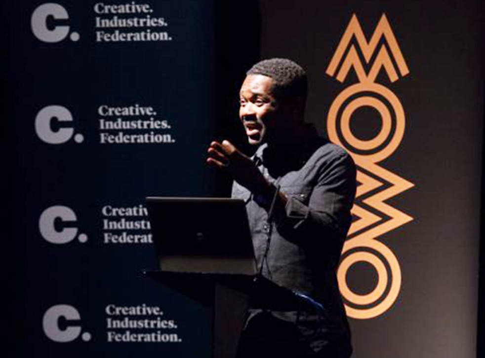 David Oyelowo, speaking at the launch of Mobo's report into diversity in the UK's creative industries on Monday