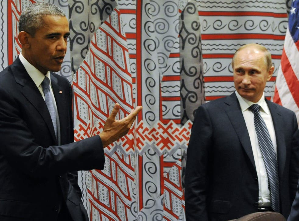 Vladimir Putin and Barack Obama have discussed the war against Isis