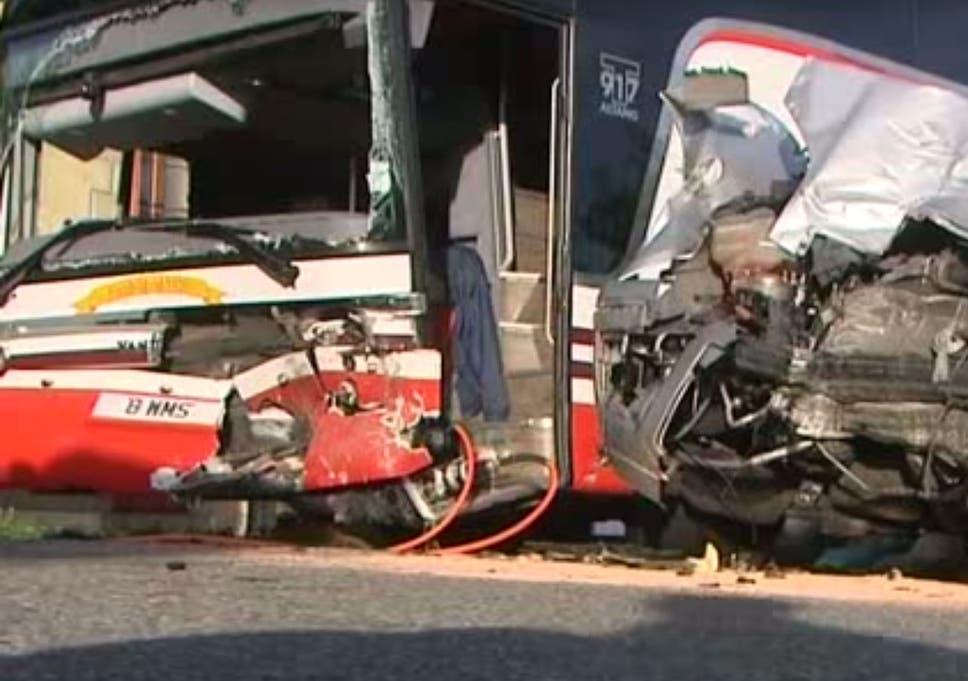 Dalbeattie school bus crash: Eight pupils injured in France trip but