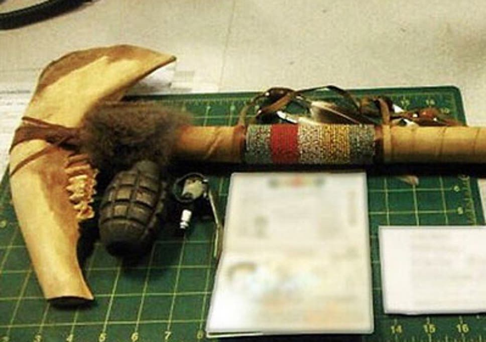 Jawbone tomahawk and Samurai sword among the worst objects