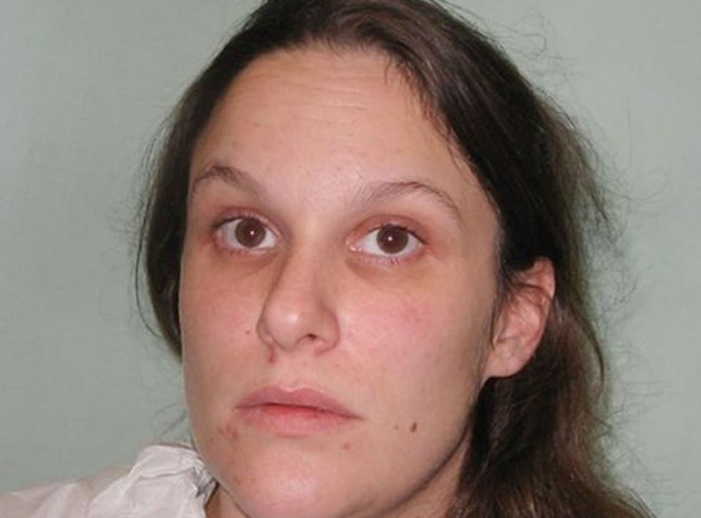 Sarah Sands who has been jailed for stabbing to death a convicted paedophile