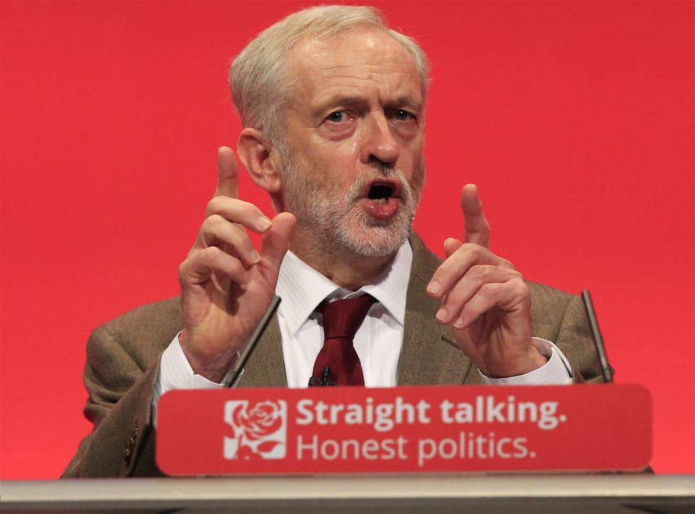 The new Labour leader delivers his speech