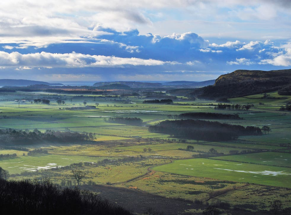 The Lyth Valley near Kendal; there is a small RSPB reserve in the valley