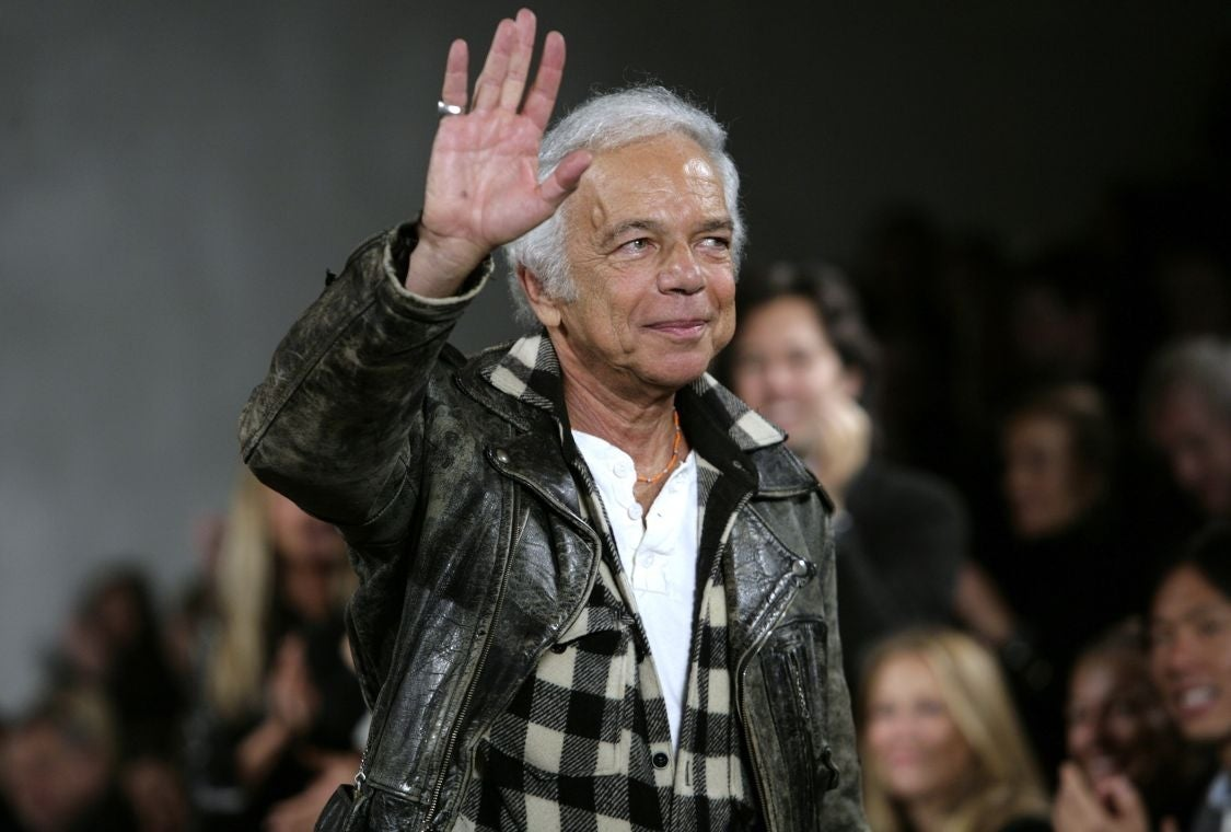 Ralph Lauren steps down as CEO of fashion brand he founded almost 50 years ago | The Independent