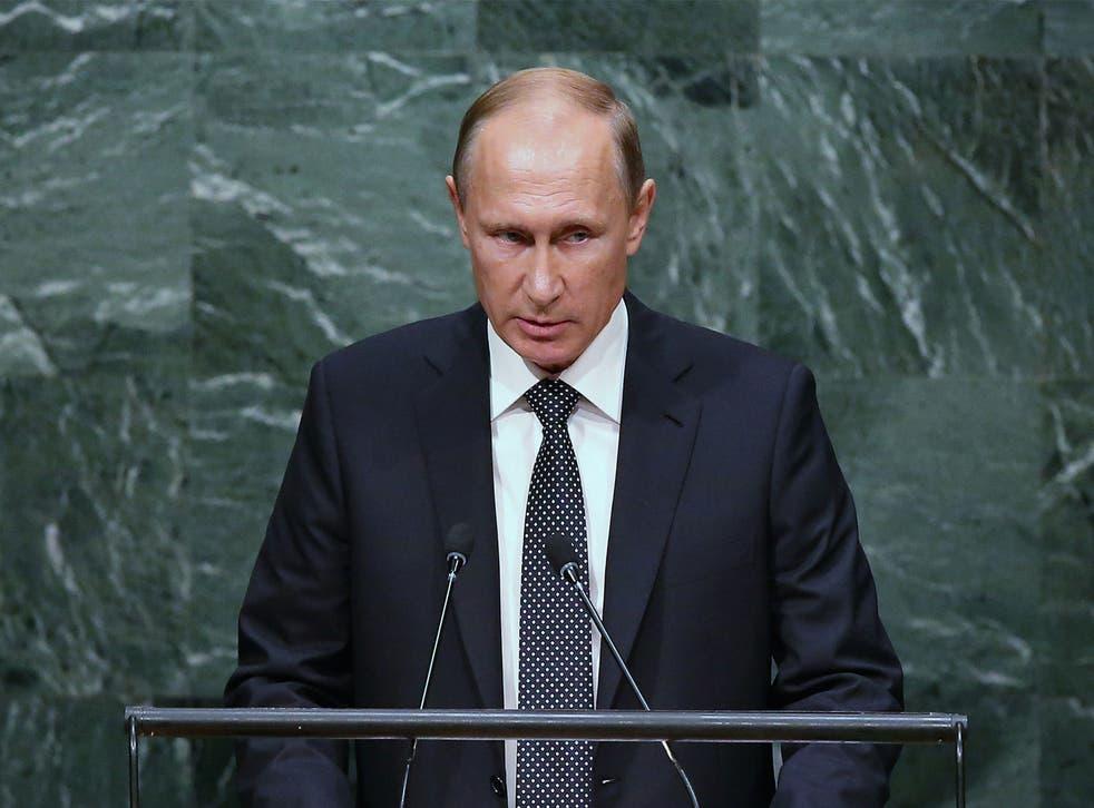 Vladimir Putin has focused on Isis in many of his speeches