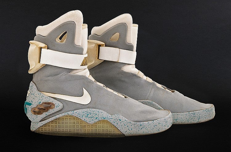 Marty McFly s Nike Mags from Back to the Future II expected to make ... c40aee241