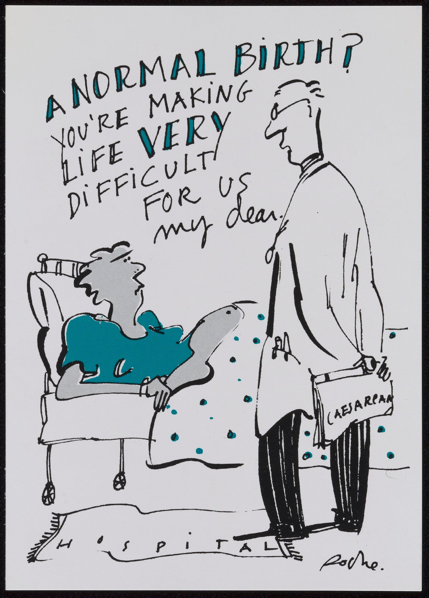 Hilarious pro-breastfeeding poster among NCT archive preserved by