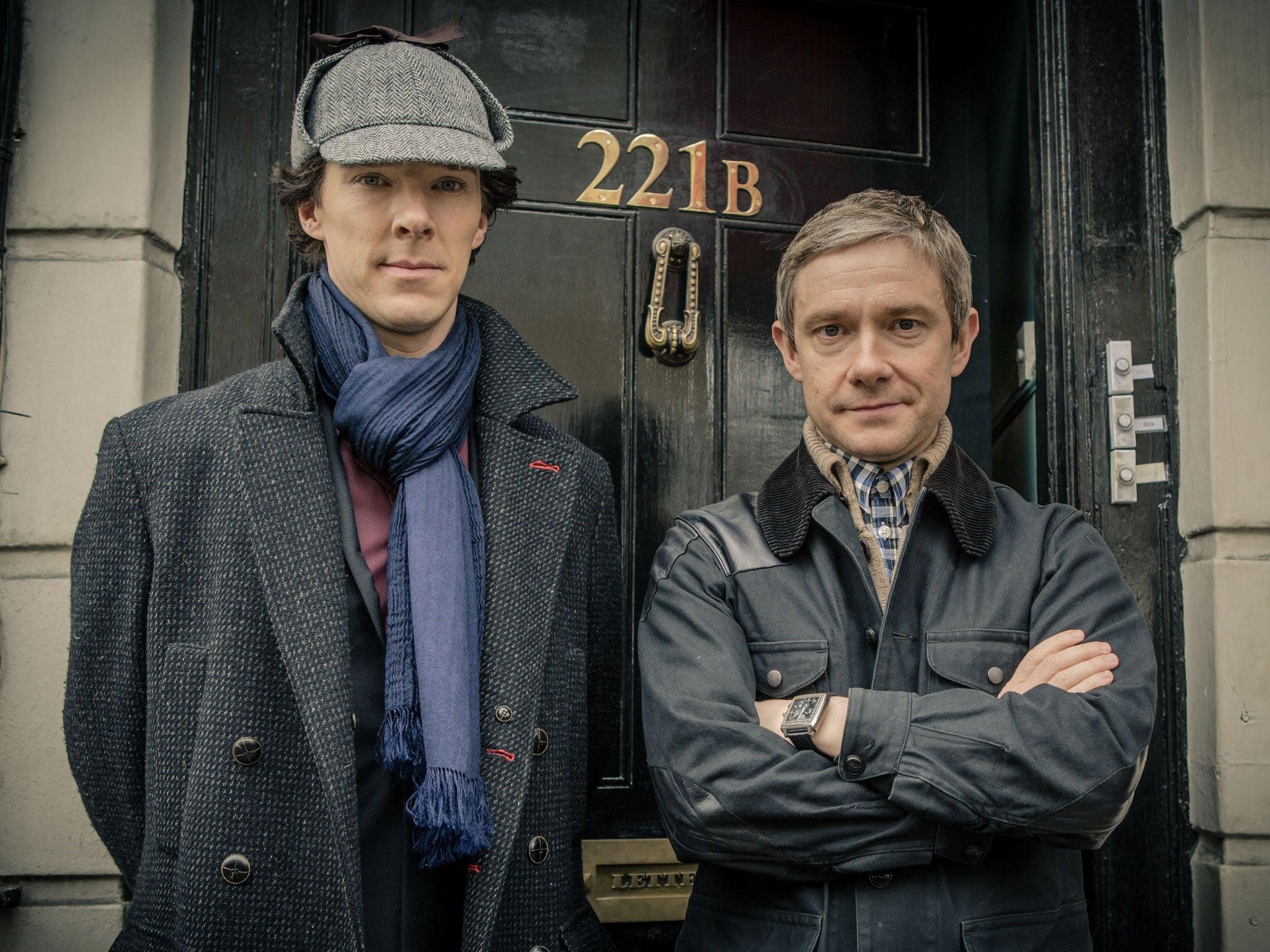 Sherlock season 4 release date: Benedict Cumberbatch and Martin ...