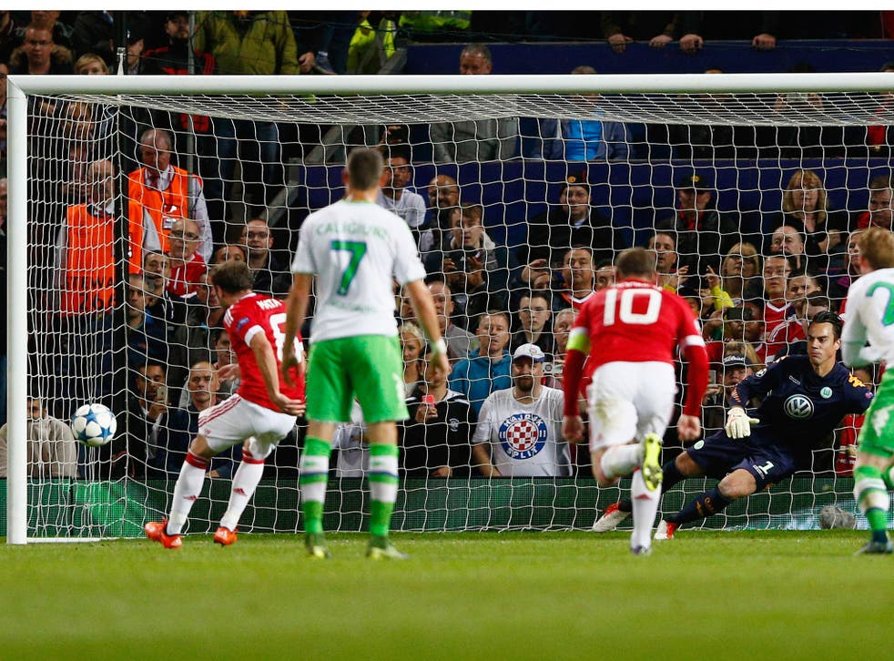 Juan Mata equalises from the penalty spot