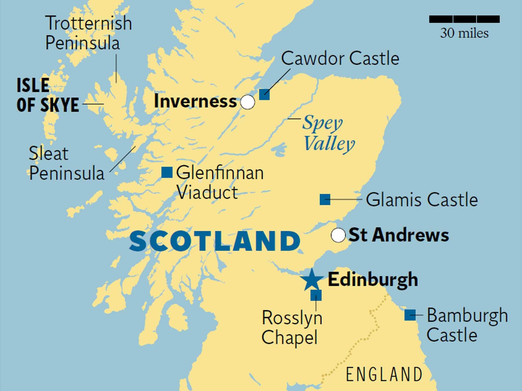 Macbeth Trail In The Scottish Highlands And Islands King Cawdor
