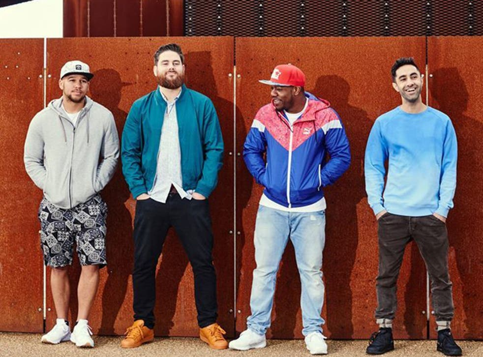 Rudimental: Kesi Dryden, Piers Agget, DJ Locksmith, and Amir Amor