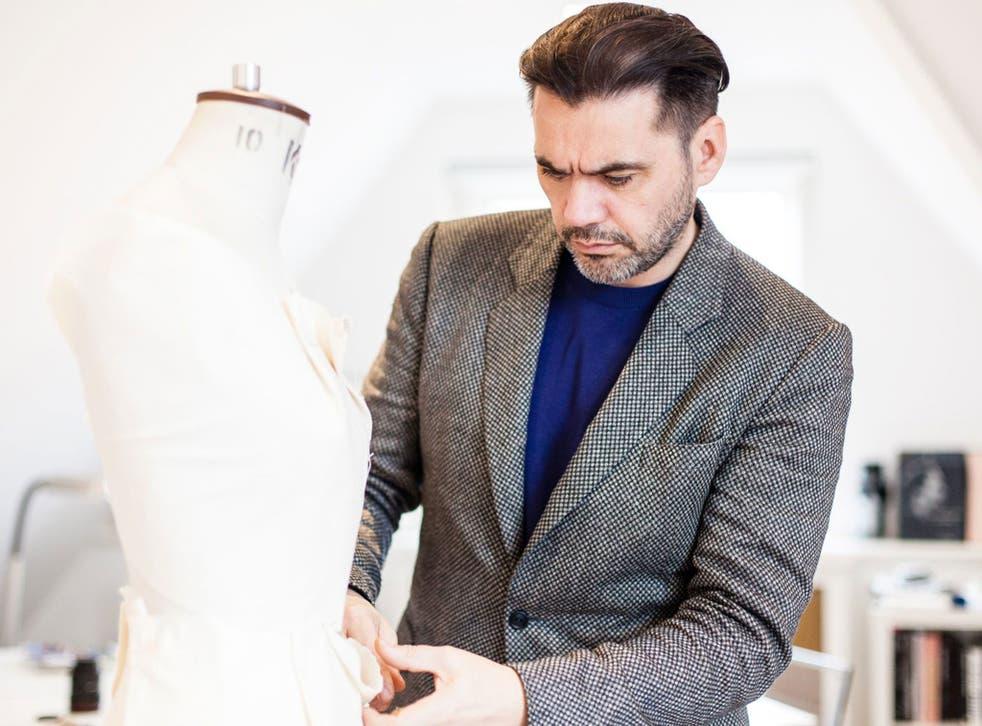 Intergalactic: Fashion designer Roland Mouret in his studio