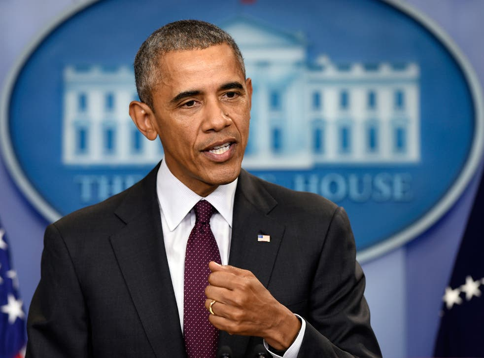 President Barack Obama speaks in the Brady Press Briefing Room at the White House in Washington, Thursday, Oct. 1, 2015, about the shooting at Umpqua Community College in Roseburg, Oregon