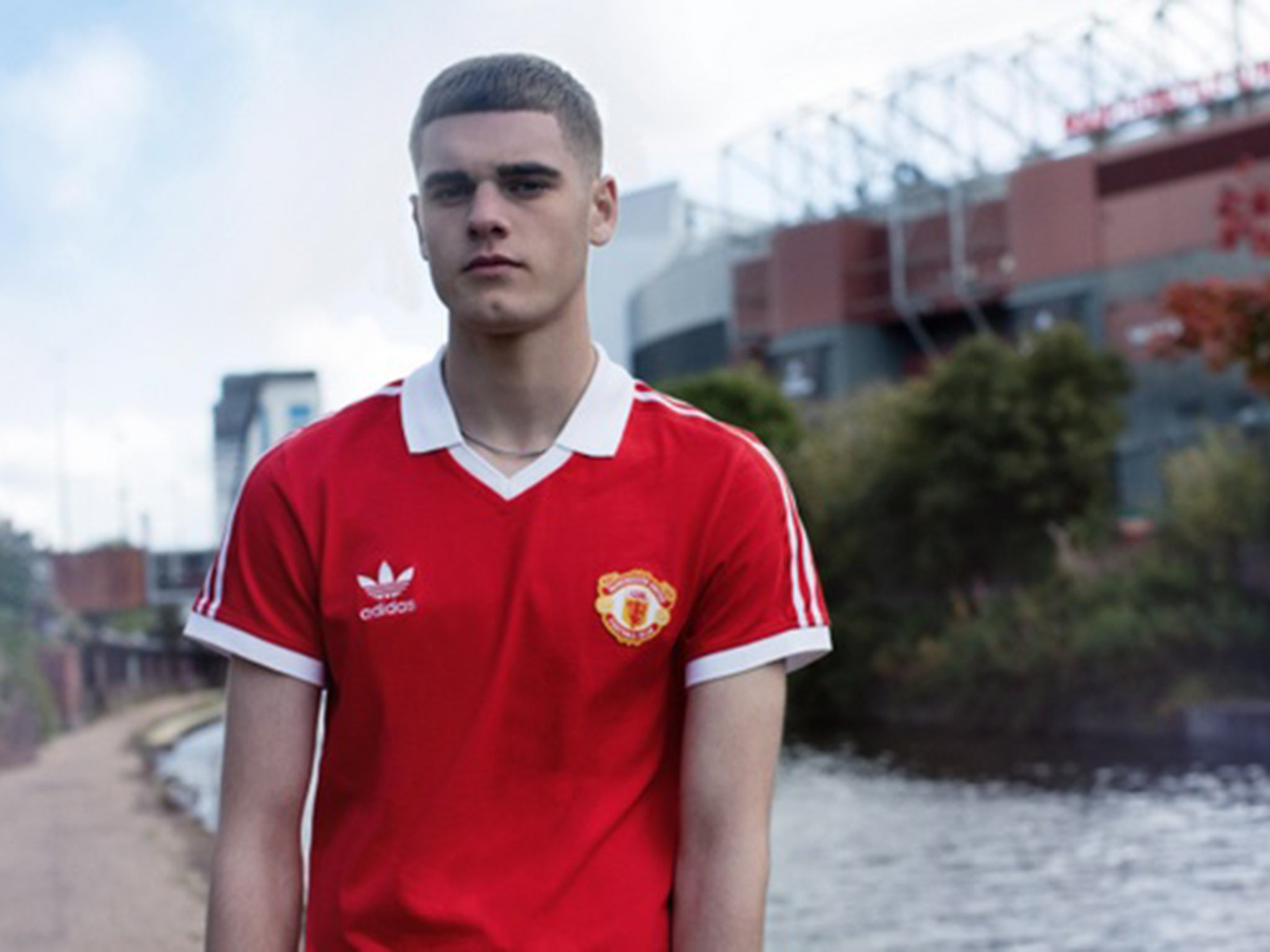 check out 1848d 459c3 Manchester United kit: Adidas Originals launch retro United ...