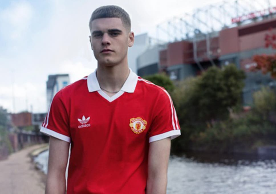 54da6d797 Manchester United kit  Adidas Originals launch retro United shirt ...