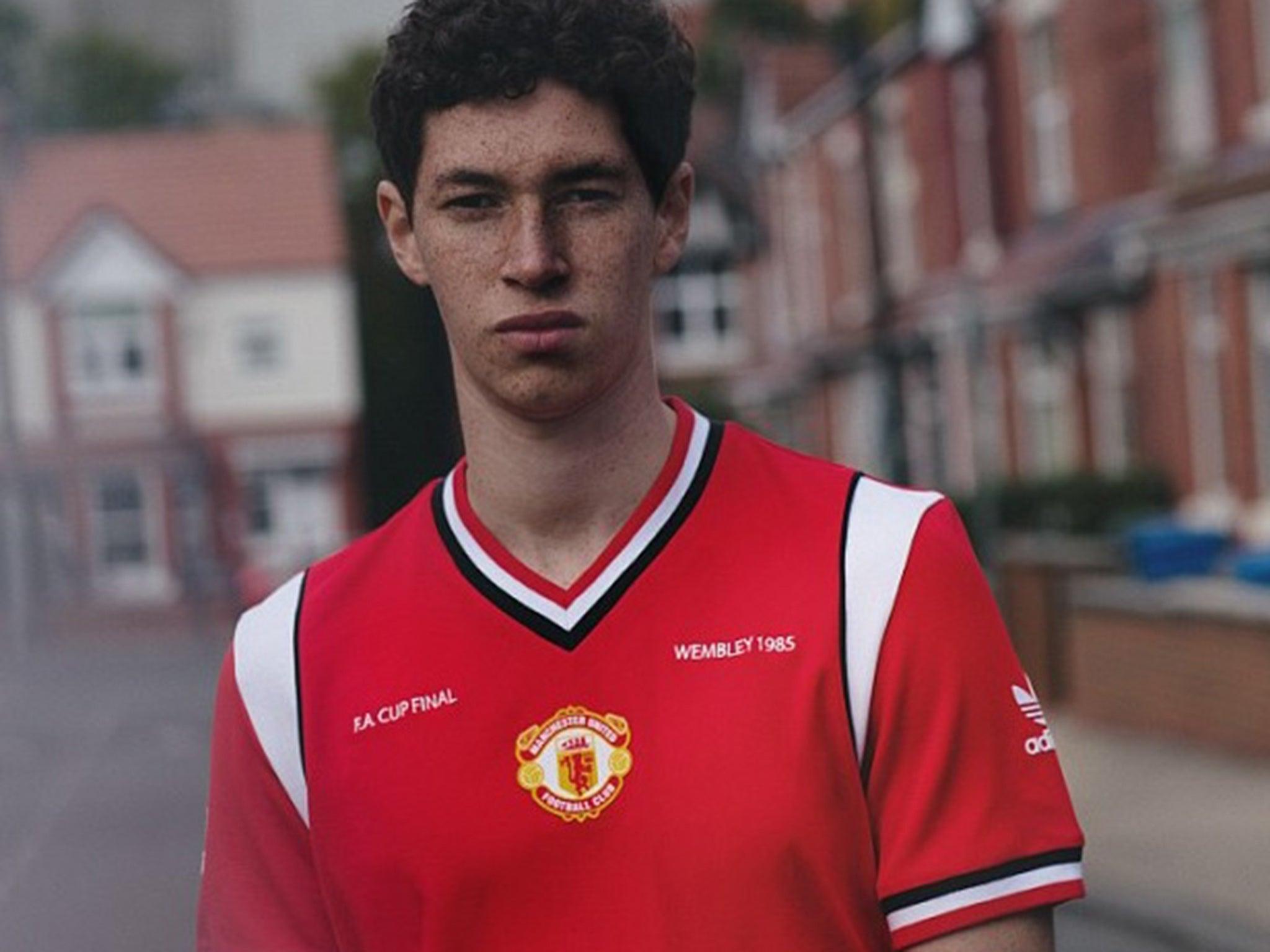 9fc507537 Manchester United kit  Adidas Originals launch retro United shirt ...
