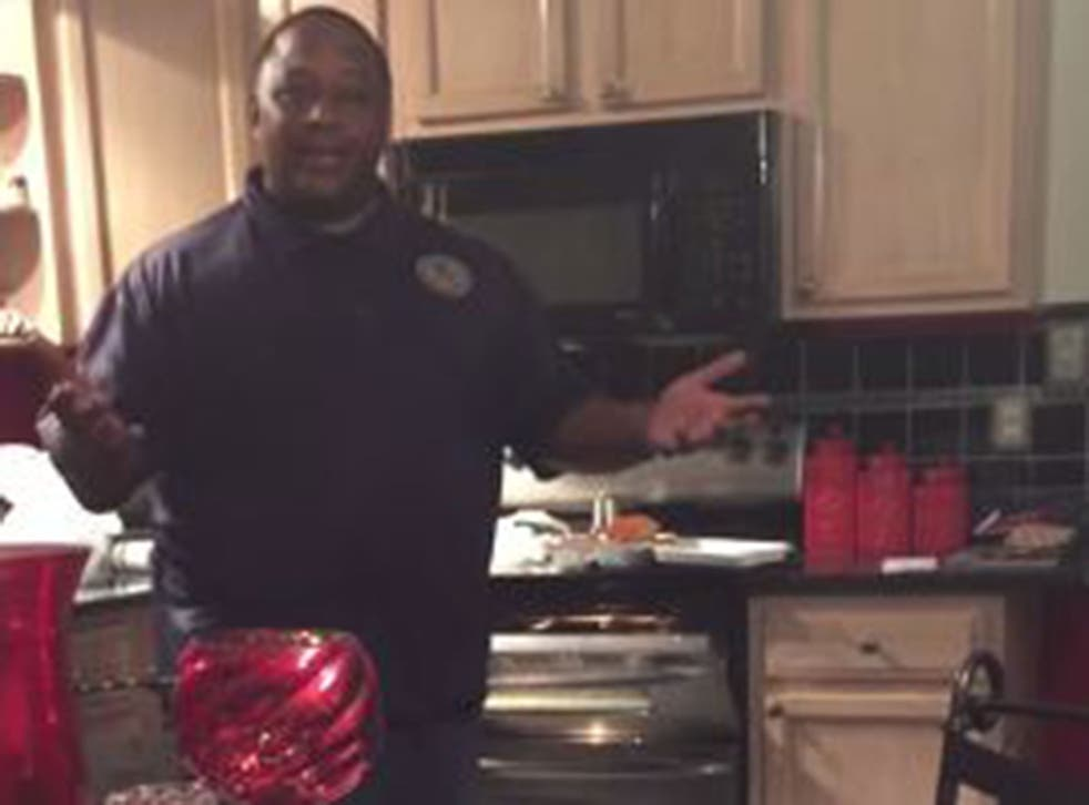 Arkell Graves was cooking dinner when he found out his wife was pregnant