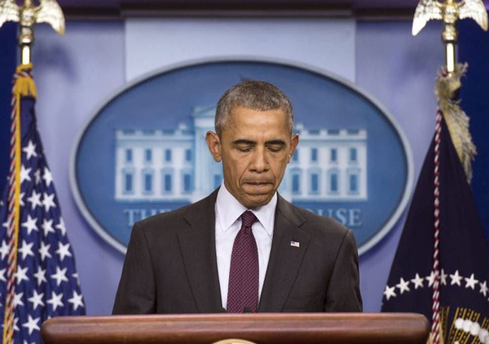 884fe851b7393 Barack Obama said politicians were  collectively answerable  for the lack  of new gun controls