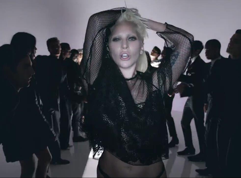 Lady Gaga Tom Ford spring/summer 2016