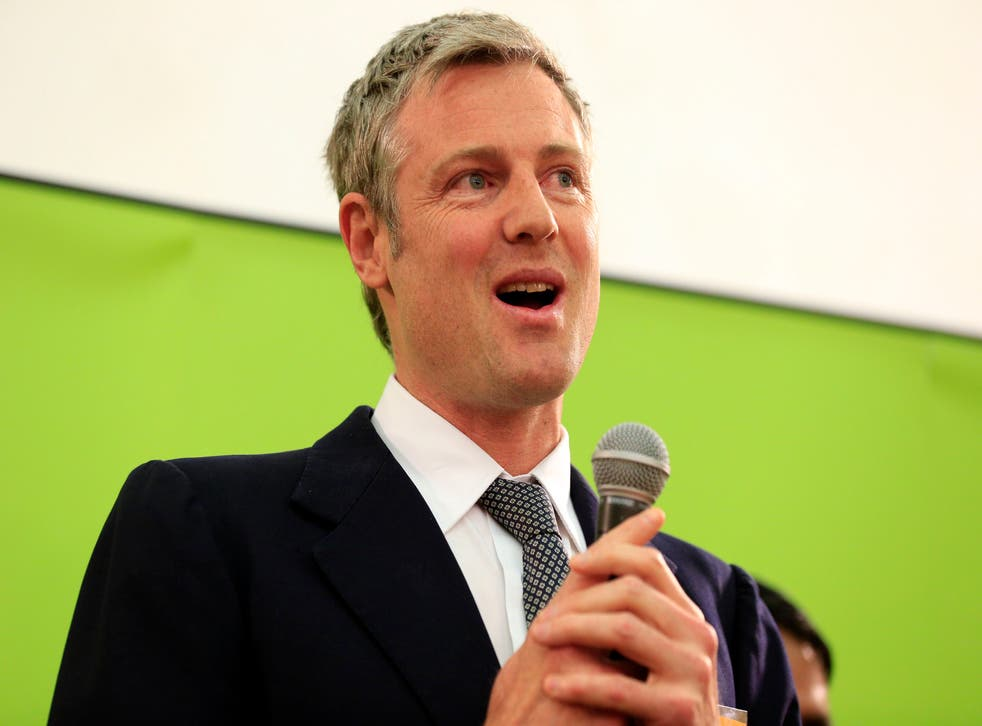 The Conservatives chose Zac Goldsmith as their candidate for London Mayor