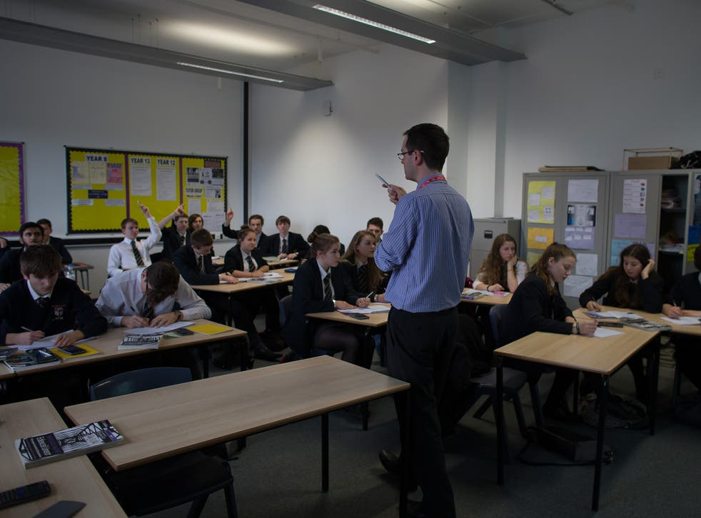 Two-thirds of teachers said morale had declined in the past five years