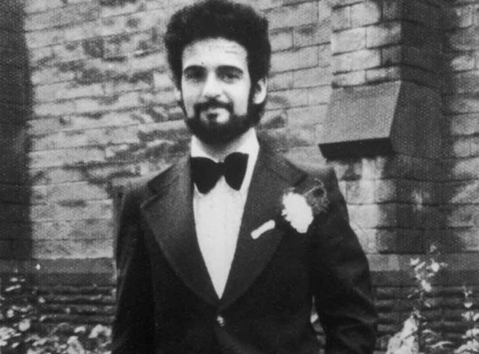 Peter Sutcliffe on his wedding day on August 10 1974