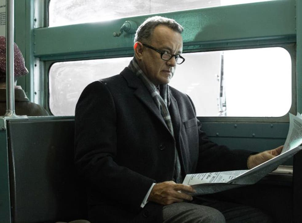 Tom Hanks as lawyer James Donovan in Steven Spielberg's 'Bridge of Spies'