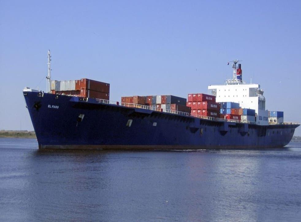 The cargo ship El Faro went missing in Hurricane Joaquin on Thursday