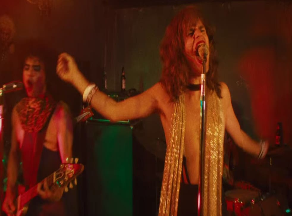 Shot from the first trailer for Martin Scorsese an Mick Jagger's Vinyl