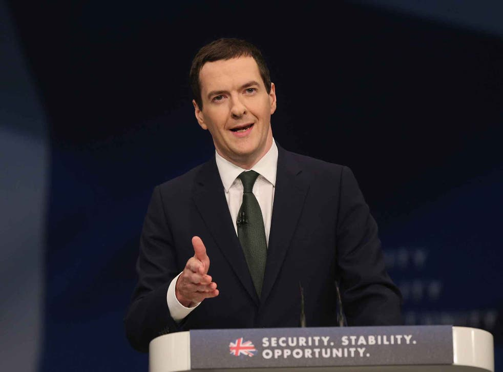 The reform was announced in the Chancellor's speech to the Conservative annual conference