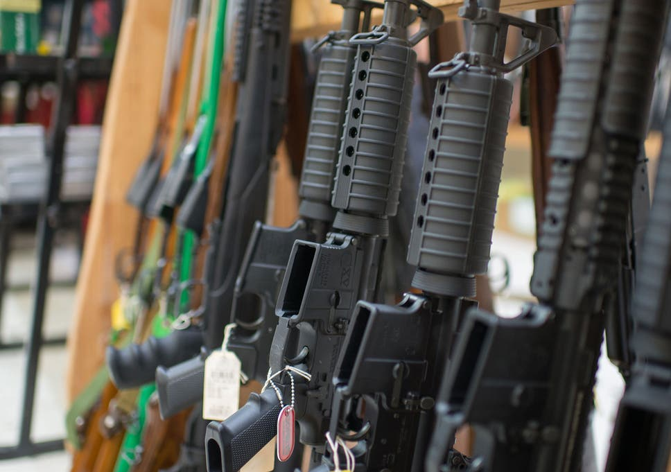 Gun owners in America now have eight weapons on average