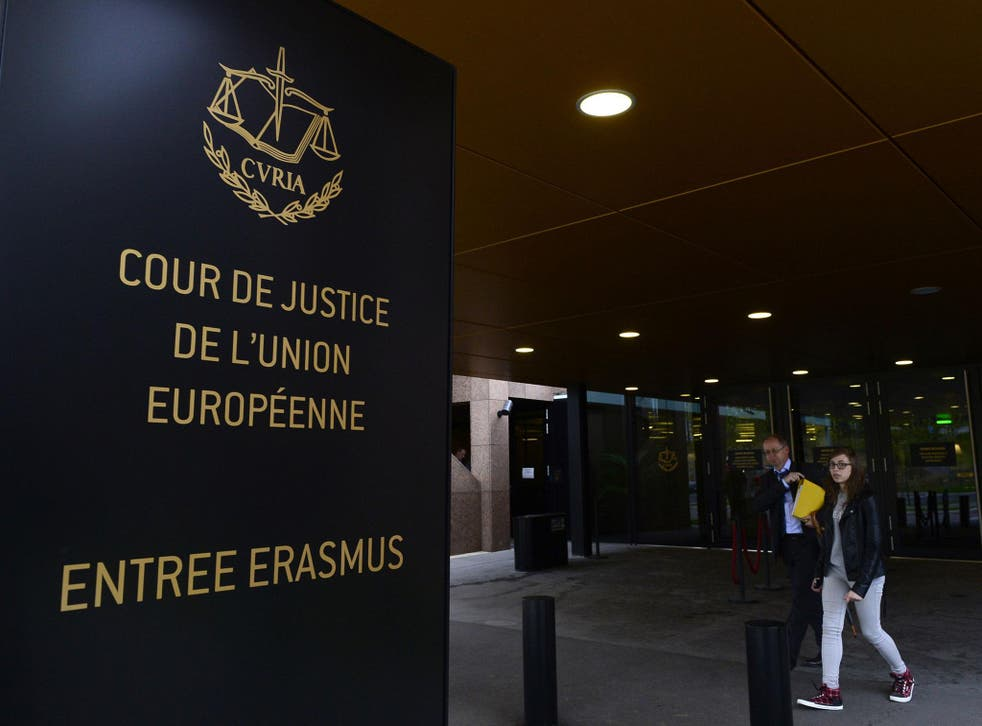 The European Court of Justice found in favour of the UK Government