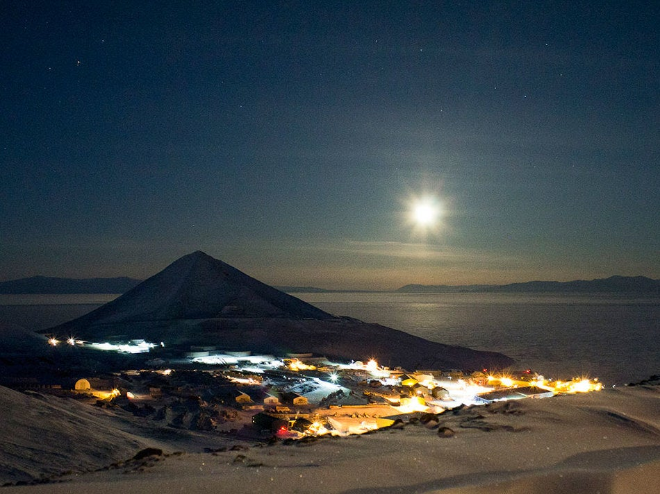 Two workers at remote US Antarctic research base die after smoke spotted in building