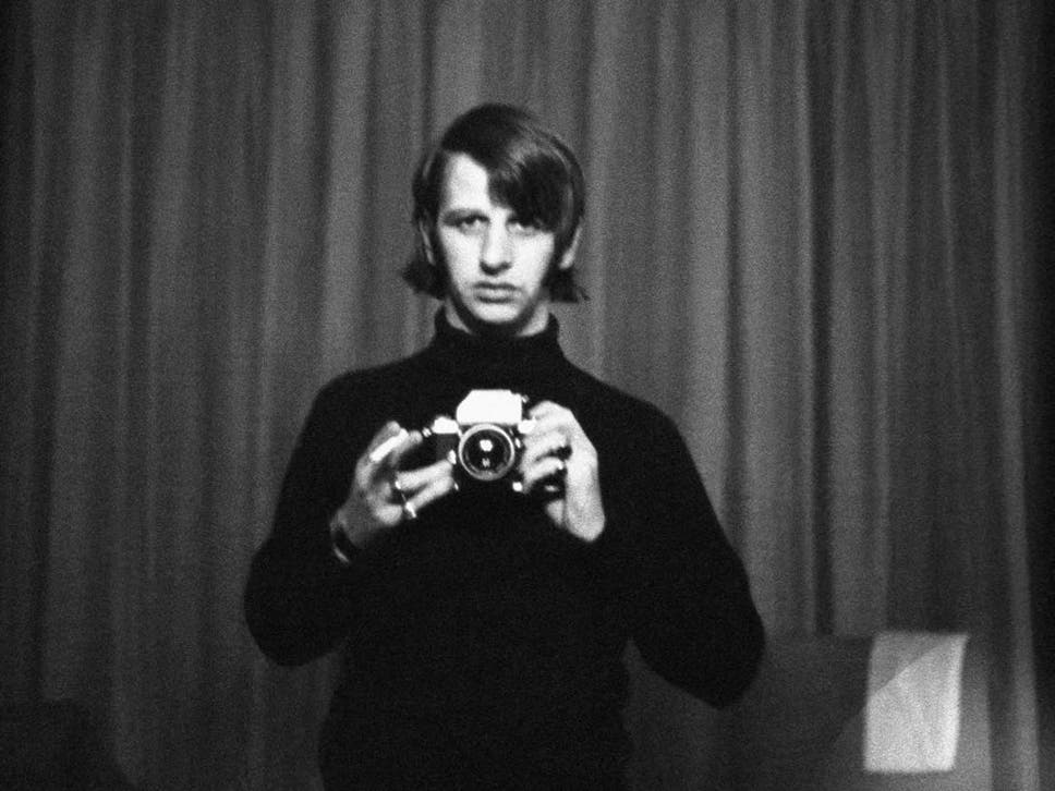Ringo Starr With Camera