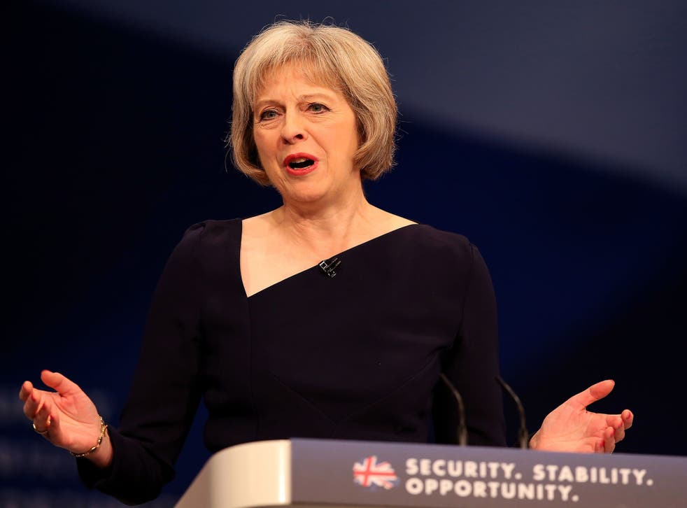 Ms May insisted that under her watch the Government had proven it could control immigration