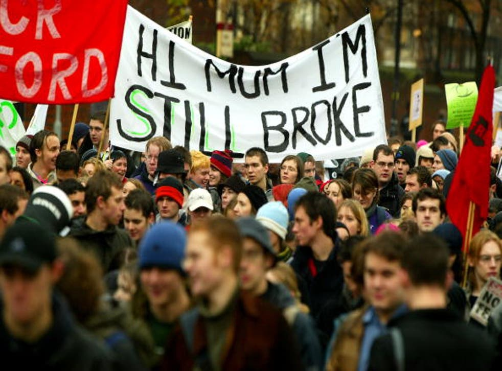Students from across the country have been campaigning for years against Tory attacks on higher education