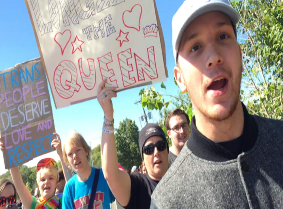 Students from Oak Park High in the US ran the Westboro Baptist Church out of the town of Missouri after the group dared to speak out against one of its transgender pupils
